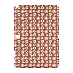 Cute Floral Pattern Samsung Galaxy Note 10.1 (P600) Hardshell Case by creativemom