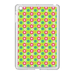 Cute Floral Pattern Apple Ipad Mini Case (white) by creativemom