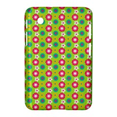 Cute Floral Pattern Samsung Galaxy Tab 2 (7 ) P3100 Hardshell Case  by creativemom