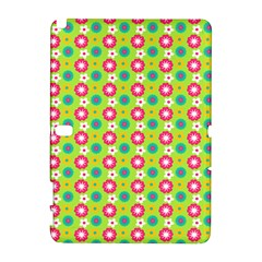 Cute Floral Pattern Samsung Galaxy Note 10 1 (p600) Hardshell Case by creativemom