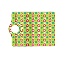 Cute Floral Pattern Kindle Fire Hd (2013) Flip 360 Case by creativemom
