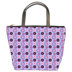 Cute Floral Pattern Bucket Handbag by creativemom