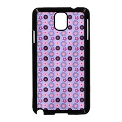 Cute Floral Pattern Samsung Galaxy Note 3 Neo Hardshell Case (black) by creativemom