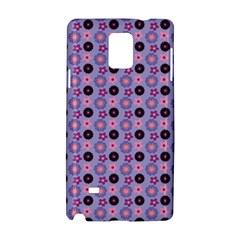 Cute Floral Pattern Samsung Galaxy Note 4 Hardshell Case