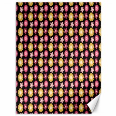 Cute Floral Pattern Canvas 36  X 48  (unframed) by creativemom