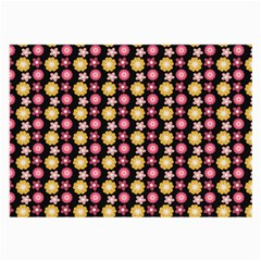 Cute Floral Pattern Glasses Cloth (large) by creativemom