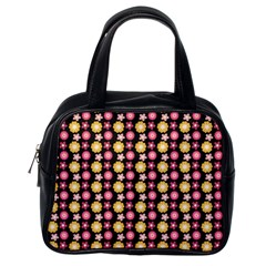 Cute Floral Pattern Classic Handbag (one Side) by creativemom