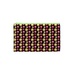 Cute Floral Pattern Cosmetic Bag (xs) by creativemom