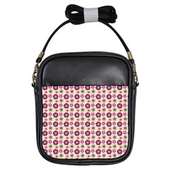 Cute Floral Pattern Girl s Sling Bag by creativemom