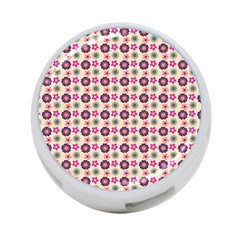 Cute Floral Pattern 4 Port Usb Hub (one Side) by creativemom