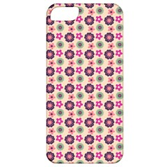 Cute Floral Pattern Apple Iphone 5 Classic Hardshell Case by creativemom