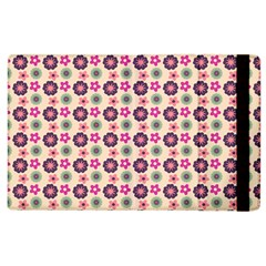 Cute Floral Pattern Apple Ipad 2 Flip Case by creativemom