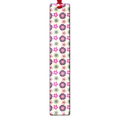 Cute Floral Pattern Large Bookmark by creativemom