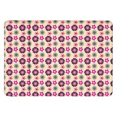 Cute Floral Pattern Samsung Galaxy Tab 8 9  P7300 Flip Case by creativemom