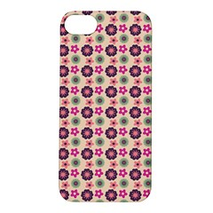 Cute Floral Pattern Apple Iphone 5s Hardshell Case by creativemom