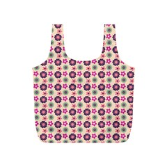 Cute Floral Pattern Reusable Bag (s) by creativemom