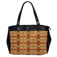 Faux Animal Print Pattern Oversize Office Handbag (one Side) by creativemom