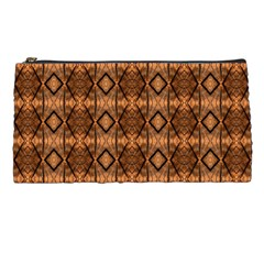 Faux Animal Print Pattern Pencil Case