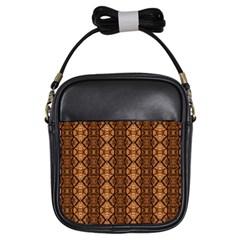 Faux Animal Print Pattern Girl s Sling Bag by creativemom