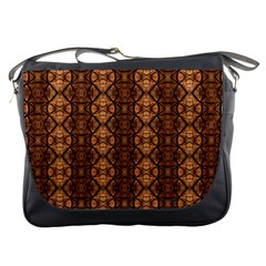 Faux Animal Print Pattern Messenger Bag by creativemom