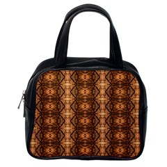 Faux Animal Print Pattern Classic Handbag (one Side) by creativemom