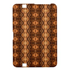 Faux Animal Print Pattern Kindle Fire HD 8.9  Hardshell Case by creativemom