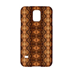 Faux Animal Print Pattern Samsung Galaxy S5 Hardshell Case  by creativemom
