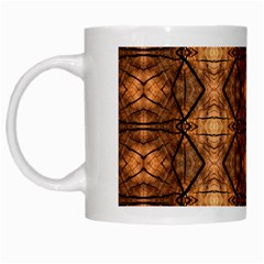 Faux Animal Print Pattern White Coffee Mug by creativemom