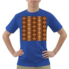 Faux Animal Print Pattern Men s T-shirt (Colored) by creativemom