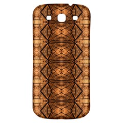 Faux Animal Print Pattern Samsung Galaxy S3 S Iii Classic Hardshell Back Case by creativemom