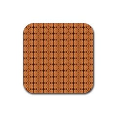 Faux Animal Print Pattern Drink Coasters 4 Pack (square) by creativemom