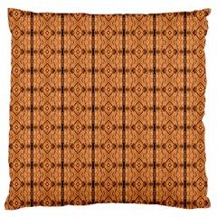 Faux Animal Print Pattern Large Cushion Case (single Sided)  by creativemom