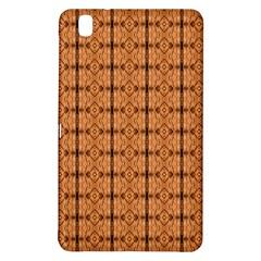 Faux Animal Print Pattern Samsung Galaxy Tab Pro 8 4 Hardshell Case by creativemom