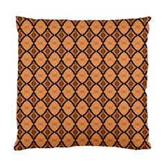 Faux Animal Print Pattern Cushion Case (two Sided)  by creativemom