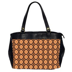 Faux Animal Print Pattern Oversize Office Handbag (two Sides) by creativemom