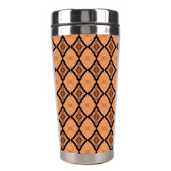 Faux Animal Print Pattern Stainless Steel Travel Tumbler