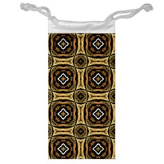 Faux Animal Print Pattern Jewelry Bag by creativemom
