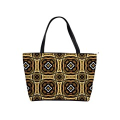 Faux Animal Print Pattern Large Shoulder Bag by creativemom