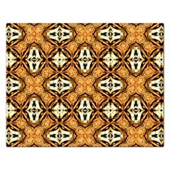 Faux Animal Print Pattern Jigsaw Puzzle (rectangle) by creativemom