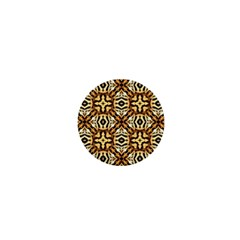 Faux Animal Print Pattern 1  Mini Button Magnet by creativemom