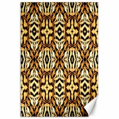 Faux Animal Print Pattern Canvas 20  X 30  (unframed) by creativemom