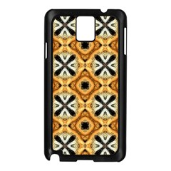 Faux Animal Print Pattern Samsung Galaxy Note 3 N9005 Case (black) by creativemom