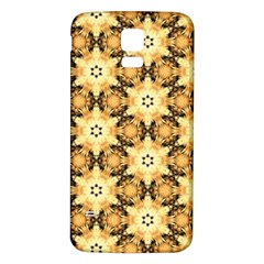 Faux Animal Print Pattern Samsung Galaxy S5 Back Case (white) by creativemom