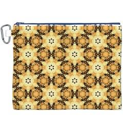 Faux Animal Print Pattern Canvas Cosmetic Bag (xxxl) by creativemom