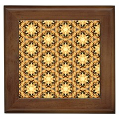 Faux Animal Print Pattern Framed Ceramic Tile by creativemom