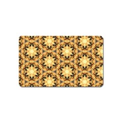 Faux Animal Print Pattern Magnet (name Card) by creativemom