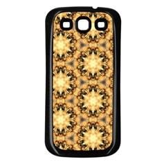 Faux Animal Print Pattern Samsung Galaxy S3 Back Case (black) by creativemom