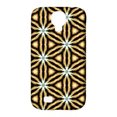 Faux Animal Print Pattern Samsung Galaxy S4 Classic Hardshell Case (pc+silicone) by creativemom