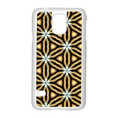 Faux Animal Print Pattern Samsung Galaxy S5 Case (white) by creativemom
