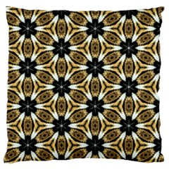 Faux Animal Print Pattern Large Flano Cushion Case (one Side) by creativemom